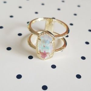 Kendra Scott Elyse Ring in Dichroic Glass